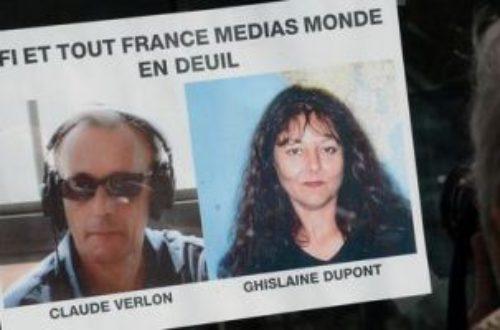 Article : Milles pensées pour nos martyrs Ghislaine et Claude