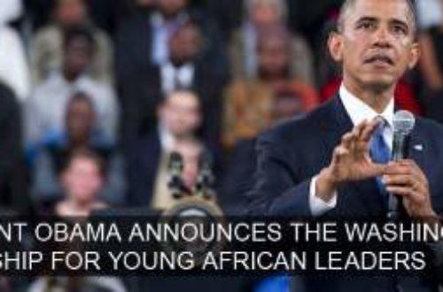 Article : Quand les USA se préoccupent du leadership en Afrique