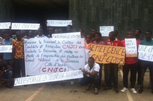 Article : Conseil National de la Jeunesse de Côte d'Ivoire: un feuilleton dégoûtant