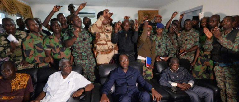 Article : Mutinerie des soldats Ivoiriens : Quand nos autorités n'inspirent plus confiance
